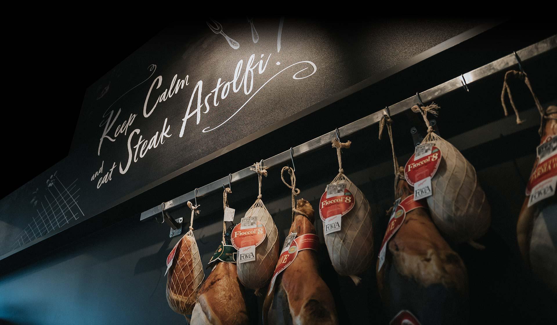 Gran Carni Astolfi - Il negozio